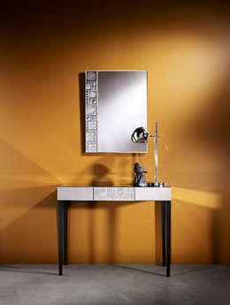 LOLLI - LOLLI TABLE: moderne Gang, hal & trappenhuis door Deknudt Mirrors