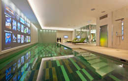 eclectic Pool by KSR Architects