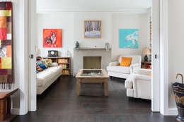 Гостиная в . Автор – Granit Architects