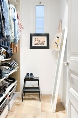 scandinavian Dressing room by Egue y Seta