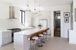 Projekty,  Kuchnia zaprojektowane przez Granit Architects