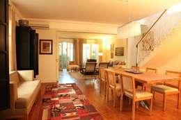 Living: Salas de estar modernas por Ornella Lenci Arquitetura