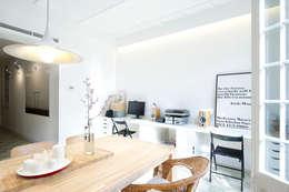 scandinavische Studeerkamer/kantoor door Egue y Seta