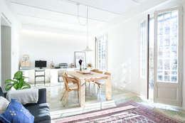 Salas de estar escandinavas por Egue y Seta