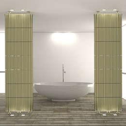 modern Bathroom by K8 RADIATORI DI DESIGN/ Design Radiators / Designheizkörper/ Radiateur design