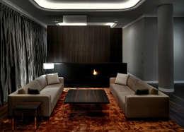 moderne Woonkamer door SOHOarchitekten