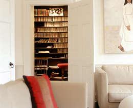 moderne Studeerkamer/kantoor door KSR Architects