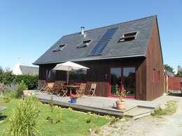 Quelques réalisations  de maisons bioclimatiques dessinées ces dernières années: Maisons de style de style Minimaliste par GUENNOC Soizic