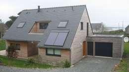 Quelques réalisations  de maisons bioclimatiques dessinées ces dernières années: Maisons de style de style Classique par GUENNOC Soizic