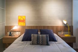 غرفة نوم تنفيذ Semerene - Arquitetura Interior