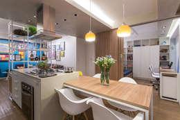 غرفة السفرة تنفيذ Semerene - Arquitetura Interior