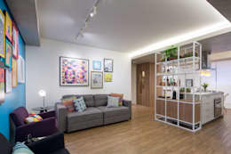 Livings de estilo moderno por Semerene - Arquitetura Interior