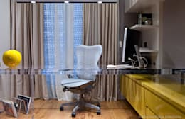 مكتب عمل أو دراسة تنفيذ Marilia Veiga Interiores