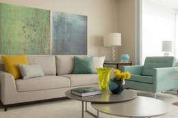 Detalhes do Living: Salas de estar modernas por Marilia Veiga Interiores