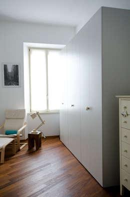 PLB P016: Camera da letto in stile in stile Scandinavo di modoo