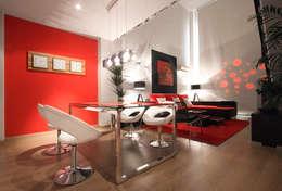 modern Dining room by Javier Zamorano Cruz