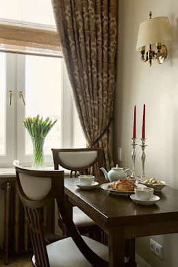Квартира на Б.Ордынке: Кухни в . Автор – COUTURE INTERIORS