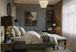 Квартира в классическом стиле: Спальни в . Автор – COUTURE INTERIORS