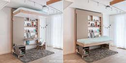 Bed Up: Chambre de style de style Classique par DECADRAGES