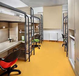 BOYTORUN ARCHITECTS – ODA: modern tarz Yatak Odası