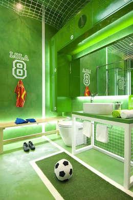 Juego Limpio F.C. Casa Decor Madrid 2010 para Futurcret: Baños de estilo moderno de Egue y Seta