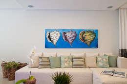 HOME: Salas multimídia tropicais por Élcio Bianchini Projetos