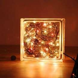 LAMPBADA DESIGN LAMP – Brickxmaslamp, Tasarım, Cam Gece Masa Lambası:  tarz İç Dekorasyon