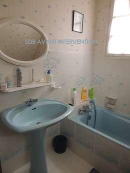 La salle de bain avant transformation: Salle de bain de style de style Rustique par L'Autrement Déco