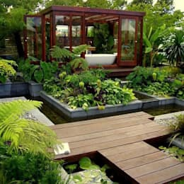 tropical Garden by Coaching Paysage