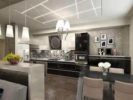 Необрутальный шик: Кухни в . Автор – De Style