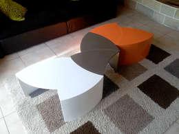 eclectische Woonkamer door PP Design