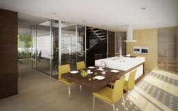 modern Kitchen by EVA | evolutionary architecture
