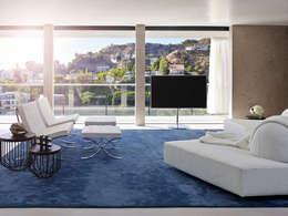 Salas de estilo minimalista por bernd gruber kitzbühel