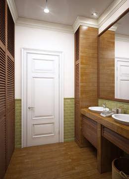 Projekty,  Łazienka zaprojektowane przez Natalia Solo Design