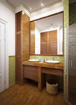 eclectic Bathroom by Natalia Solo Design