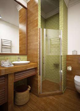 classic Bathroom by Natalia Solo Design