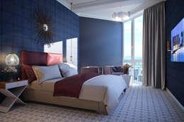 Projekty,  Sypialnia zaprojektowane przez Natalia Solo Design