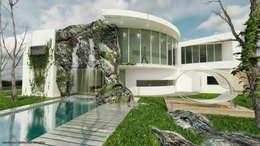 Casas de estilo  por arkitecto9.com