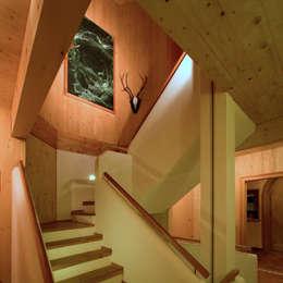 Projekty, wiejskie Domy zaprojektowane przez Thoma Holz GmbH