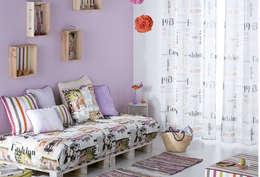 Dormitorios de estilo moderno por EL OESTE HOGAR