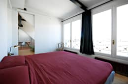 moderne Slaapkamer door humusstudio