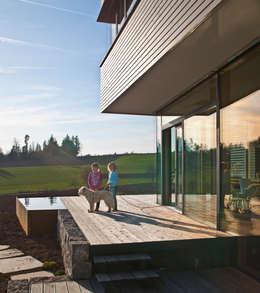 Patios & Decks by Kauffmann Theilig & Partner, Freie Architekten BDA