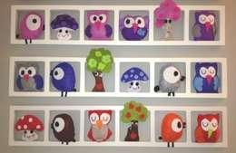 Cadres décoratifs uniques et personnalisés pour chambre d'enfant et bébé!: Murs & Sols de style de style Classique par Bichat & Friends