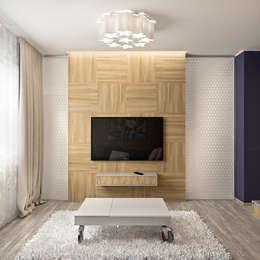 Projekty,  Salon zaprojektowane przez PlatFORM