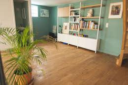 Mezzanine: Bureau de style de style Moderne par Lise Compain