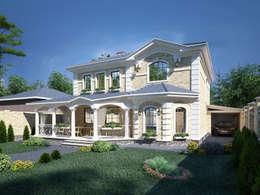 Коттеджи: Дома в . Автор – Студия Ксении Седой