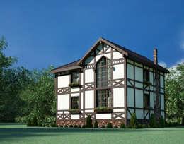 Дом в немецком стиле: Дома в . Автор – Студия Ксении Седой