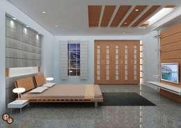 modern Bedroom by Preetham  Interior Designer