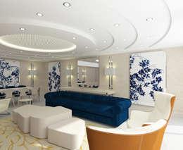 Inan AYDOGAN /IA  Interior Design Office – 15300 Misia Residence: modern tarz Oturma Odası