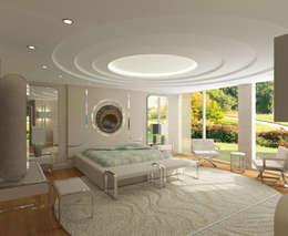 Inan AYDOGAN /IA  Interior Design Office – 15300 Misia Residence: modern tarz Yatak Odası